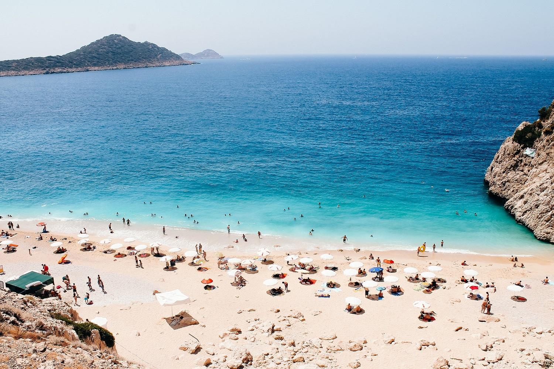 Plaża w tureckim kurorcie