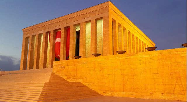 Mauzoleum Ataturka - Anitkabir